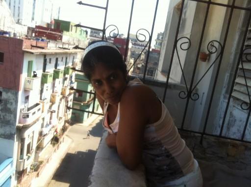 Isabel Pulido, hermana de Farah / Foto: Jorge Carrasco