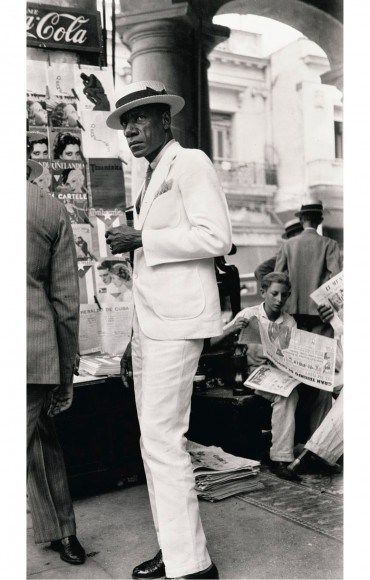Citizen in Downtown Havana, 1933