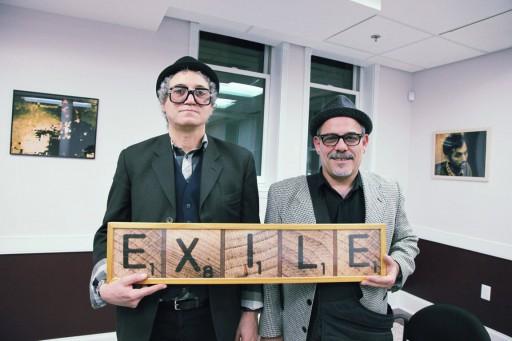 Frank Guiller y Juan Si González, New Jersey, Junio 2011 Proyecto Exilio realizado por Juan Si González y Frank Guiller Fotografía: Armando Guiller
