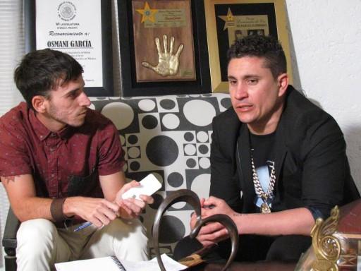 Entrevista a Osmani García