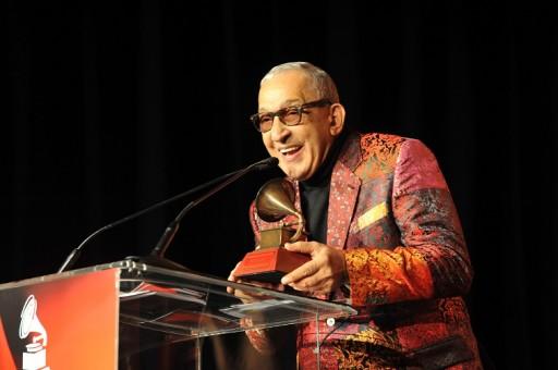 Formell en la entrega del premio Grammy Latino