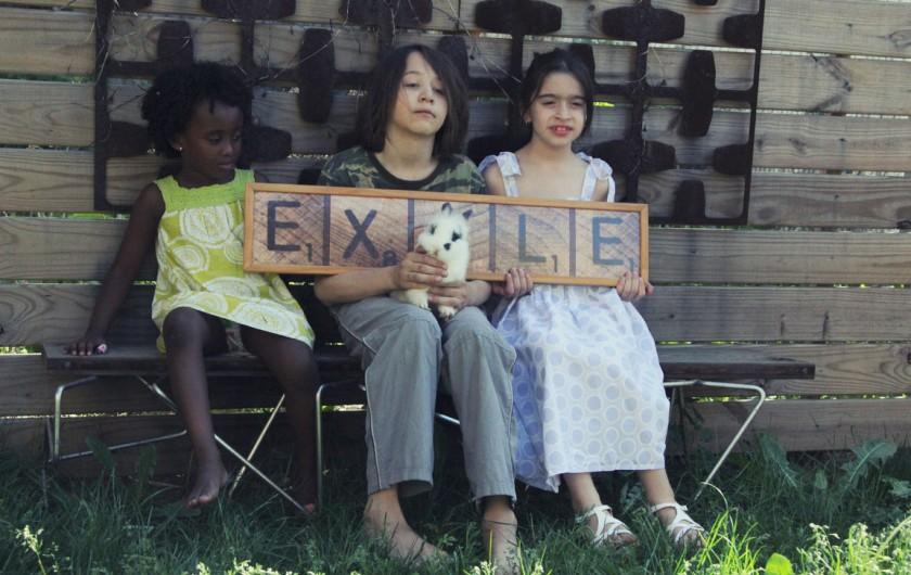 Tizita Moya, Daniel Guiller y Alicia Pavon Union City, New Jersey, Junio 2012 Proyecto Exilio realizado por Juan Si González y Frank Guiller Photografía: Frank Guiller