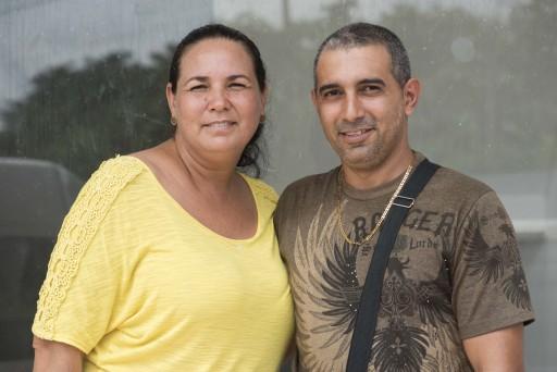 María Caridad Rodríguez y Evans González / Foto: Eyleen Vargas