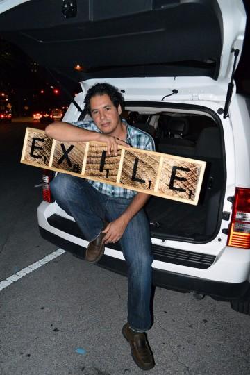 Camilo Venegas, Republica Dominicana, Octubre 2012 Proyecto Exilio realizado por Juan Si González y Frank Guiller Fotografía: Ulises Regueiro
