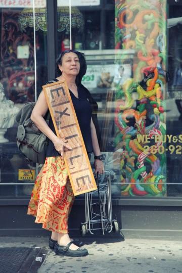 Martha Limia, New York City, Junio 2012  Proyecto Exilio realizado por Juan Si González y Frank Guiller Photografía: Frank Guiller