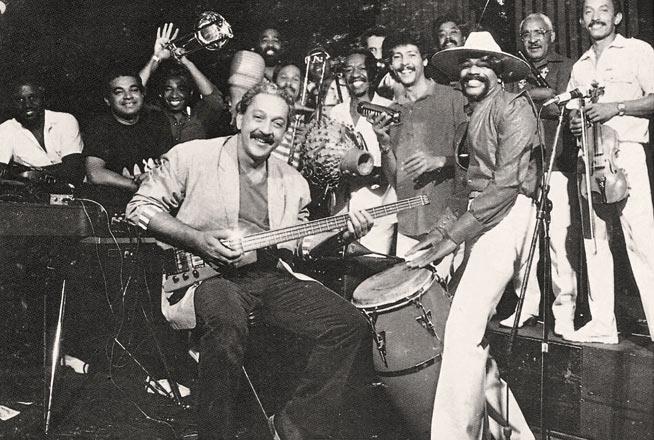 Orquesta Van Van de los años ochenta