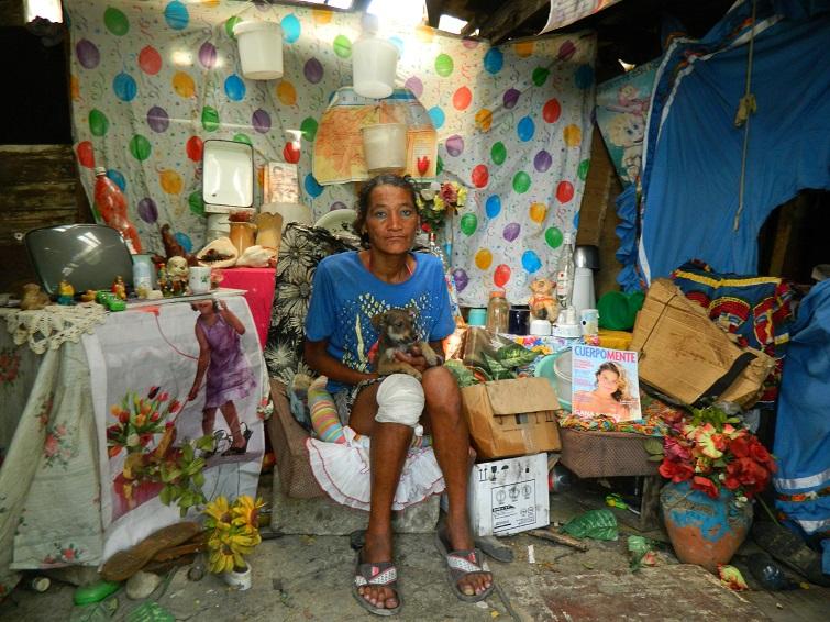 Luz María en su cuarto / Foto: El Estornudo