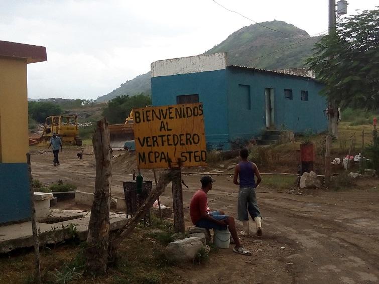 Basurero de Santiago de Cuba / Foto: Abraham Jiménez Enoa