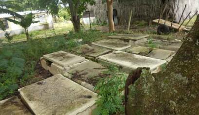 Cementerio judío en Camajuaní / Foto: tomada de OnCuba