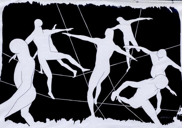 'Balance of Freedom' / Ilustración Ramiro Zardoya / Peepchic