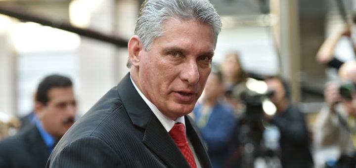 Miguel Díaz-Canel / Tampa Bay