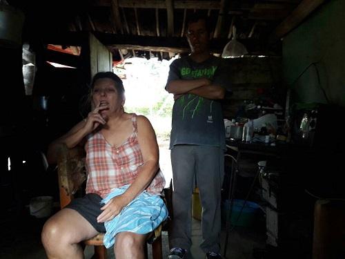 Teresa y su hijo/Foto: Cortesía del autor