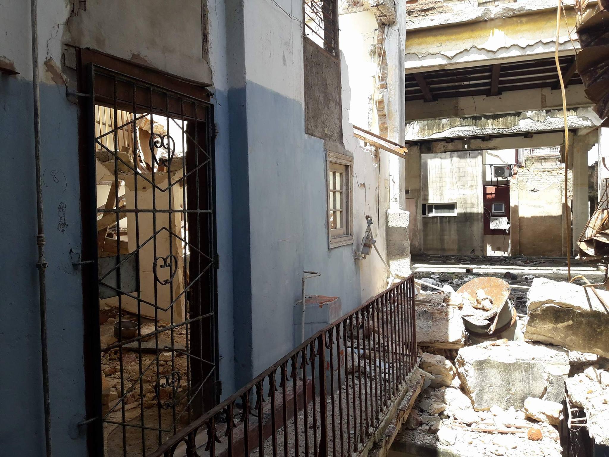 Edificio de Centro Habana / Foto: Abraham Jiménez