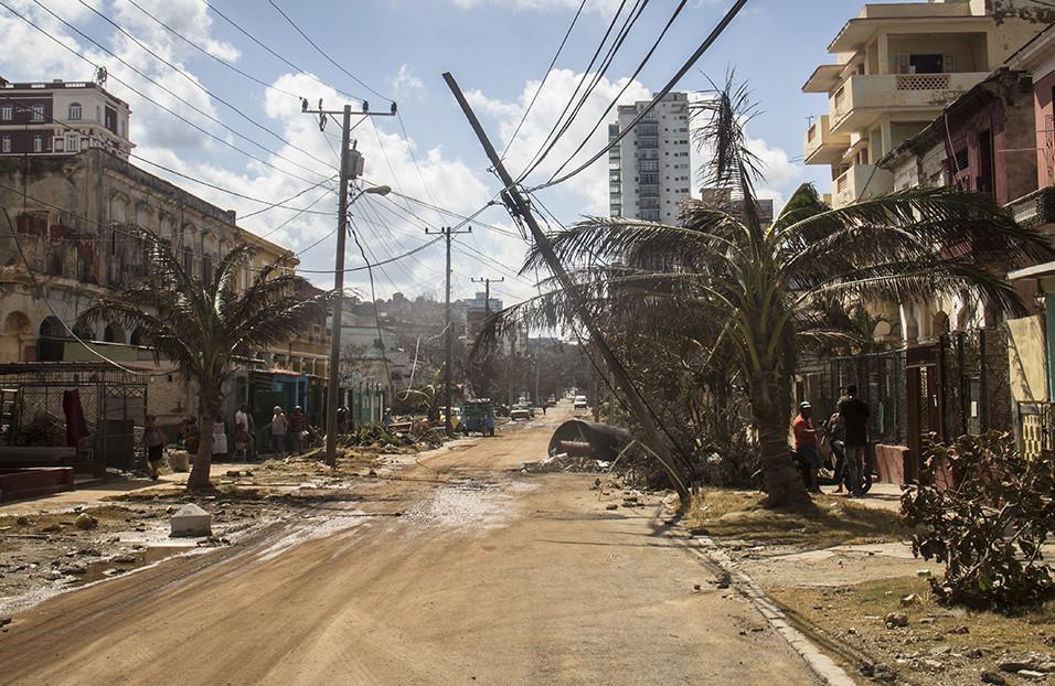 La Habana tras el paso del huracán Irma / Foto: Mario Luis Reyes