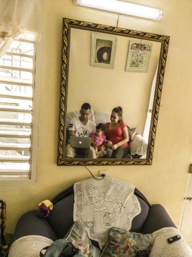 Hectico y su familia / Foto: Cortesía del autor