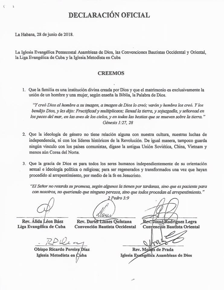 Iglesia Metodista En Cuba/Facebook