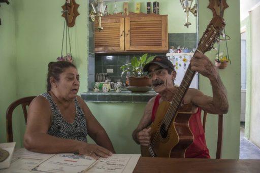 Santiago y Miguelina / Foto: Mario Luis Reyes