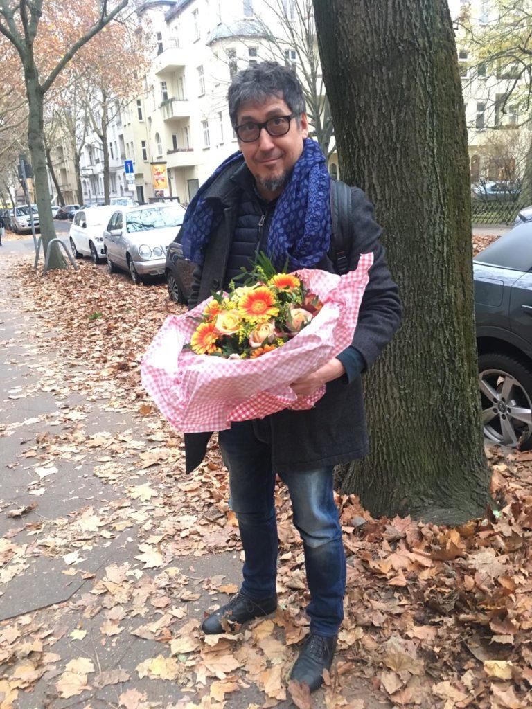 Flores para Svetlana en Stegliz / Foto: Archivo del autor