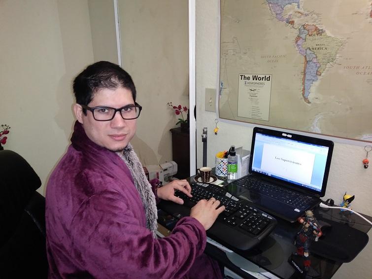Adrián Henríquez / Foto: Cortesía del entrevistado