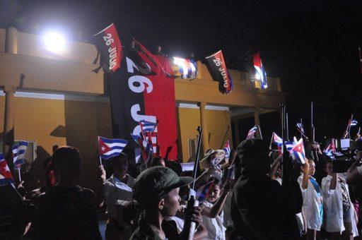 Acto por el 26 de julio en Cuba / Foto: La Demajagua