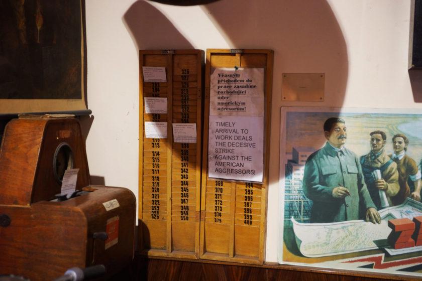 Alejandro Taquechel. Museo del Comunismo (Praga).