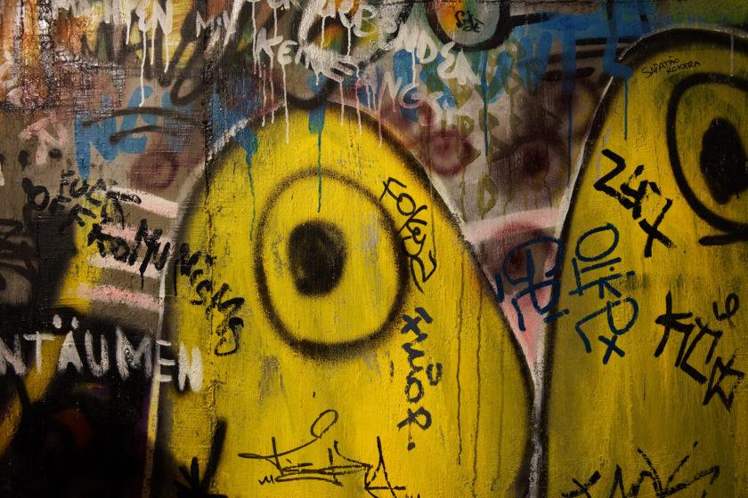 Grafitti. Alejandro Taquechel. Museo del Comunismo (Praga).