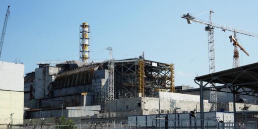 Reactor 4 de Chernóbil en 2016