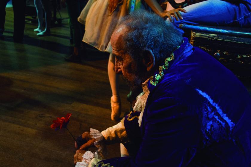 Yailin Alfaro Guillén. Ballet Nacional de Cuba. ADOLFO ROVAL como Doctor Coppelius en Ballet Coppelia