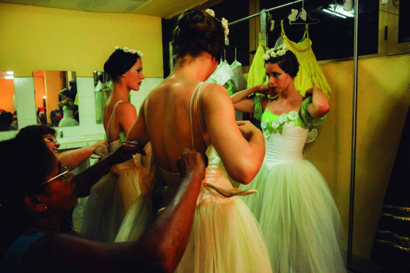 Yailin Alfaro Guillén. Ballet Nacional de Cuba. Camerino (Giselle). Vestuario