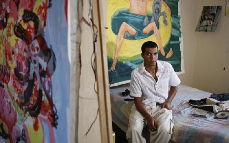Orestes Hernández, artista y profesor de Artes Plásticas del Instituto Superior de Artes de La Habana