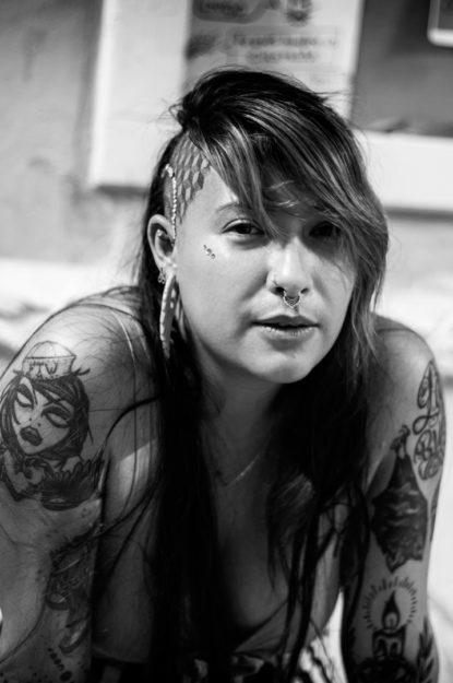 Evelyn Sosa. Mujeres, transformación corporal.
