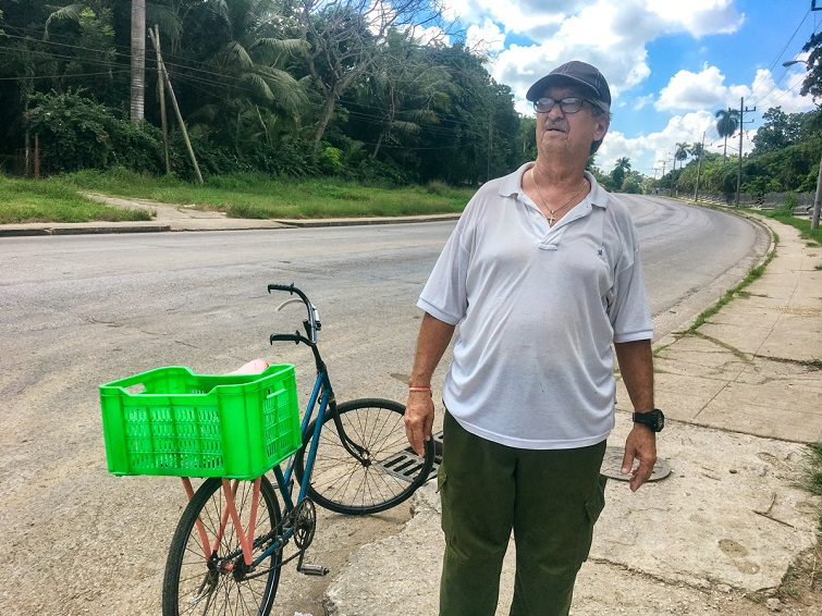 Rigoberto Fuentes Yerena, delegado de Villapol, La Habana, desde hace 28 años/ Foto: Darío Alejandro Alemán.