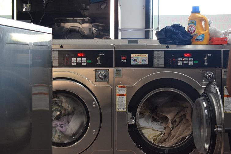 En un Laundry de Miami/ Foto: Cortesía de la autora