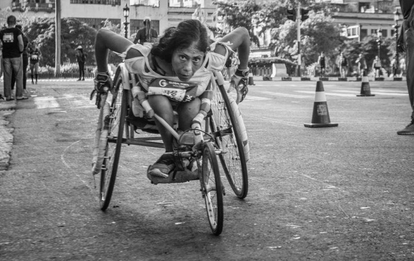 Evelyn Sosa. Maratón.