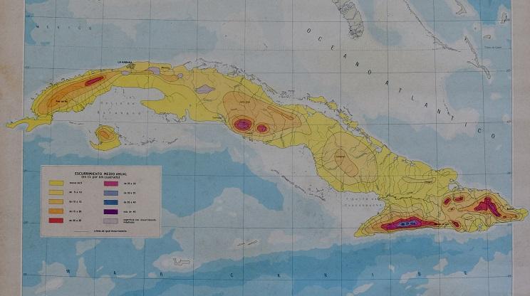 Mapa de la Isla de Cuba