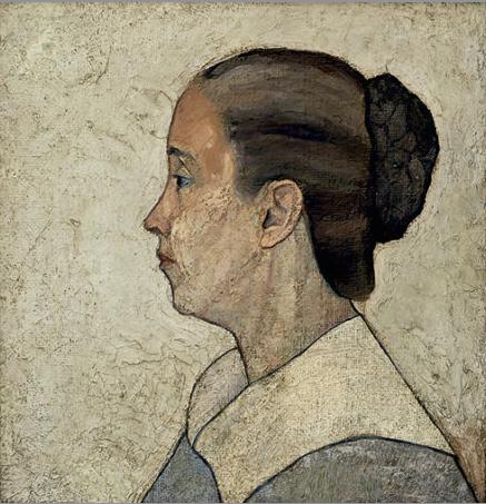 Retrato de la madre del artista Nº 3 (1929?), por Arístides Fernández.
