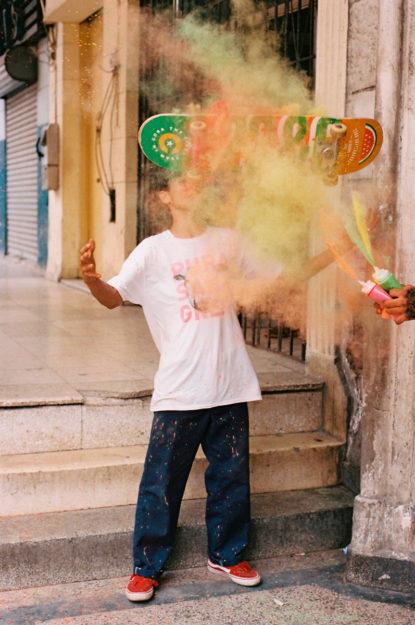 Ariel Gómez. Cuban Skateboarding.