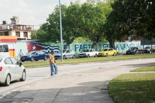 Desabastecimiento de combustible en La Habana / Foto: Raymo Herrera