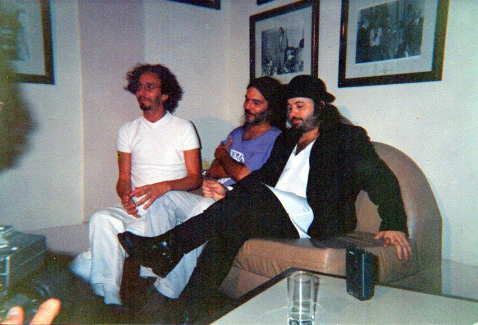 Santiago, Fito Páez y Carlos Varela