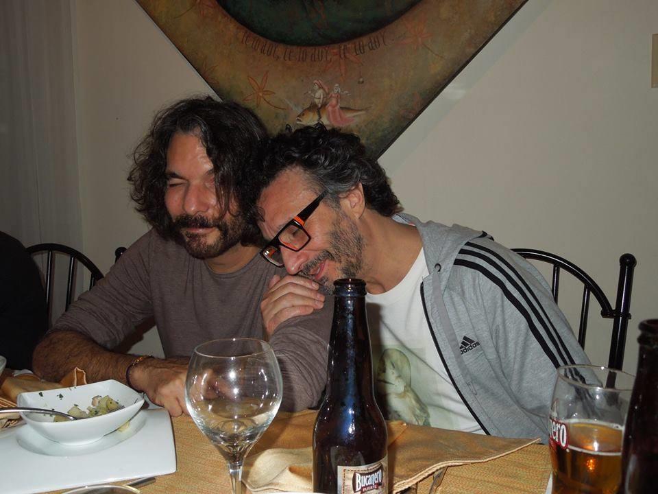Santiago Feliú y Fito Páez