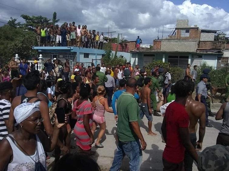 Enfrentamiento en Santiago de Cuba