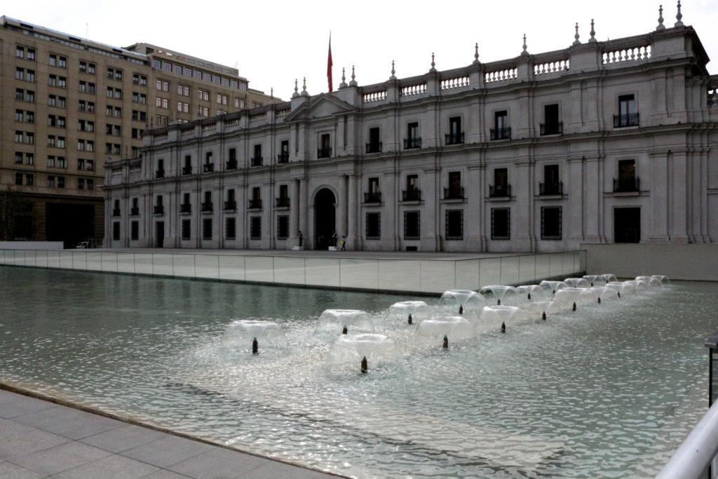 La Moneda, Santiago de Chile. Septiembre de 1019 / Foto: Jesús Adonis Martínez