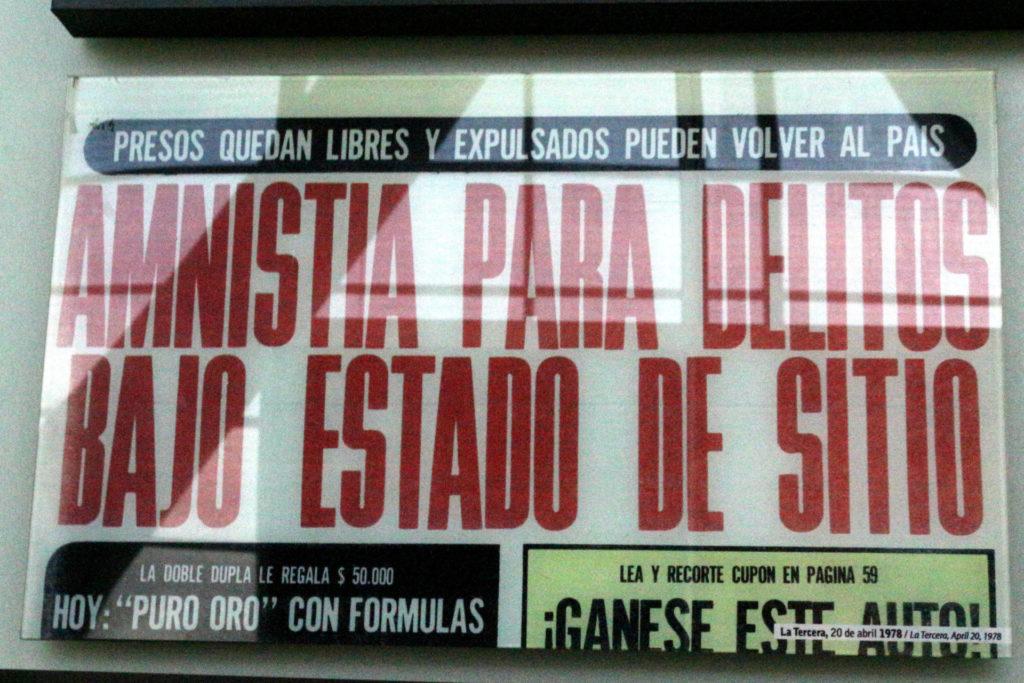 Museo de la Memoria, Santiago de Chile. Septiembre de 1019 / Foto: Jesús Adonis Martínez