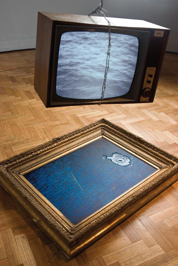Traslado de TV / Foto: Jorge Brantmayer