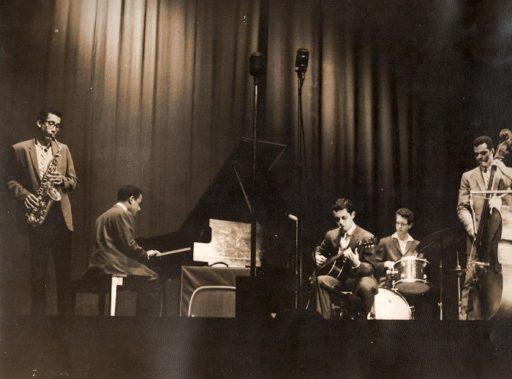 03. Paquito D'Rivera en el concierto de jazz celebrado en el cine-teatro Payret en noviembre de 1963. Foto cortesía de Paquito D'Rivera.