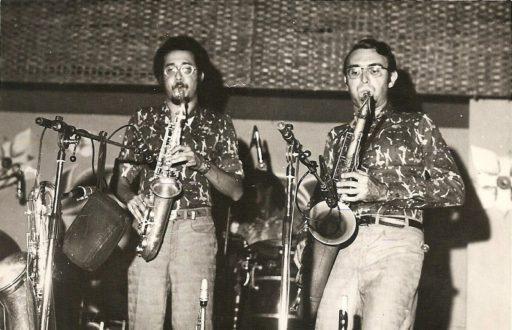 06. Paquito D'Rivera y Carlos Averhoff. 1970s. Foto cortesía de Paquito D'Rivera.