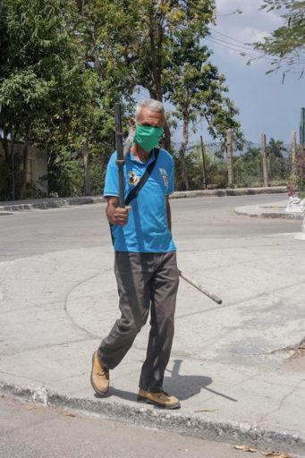El Estornudo. Paisaje del coronavirus (La Habana).