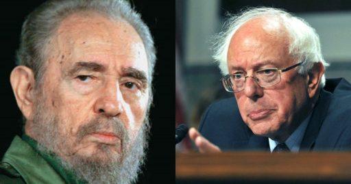 Fidel Castro y Bernie Sanders