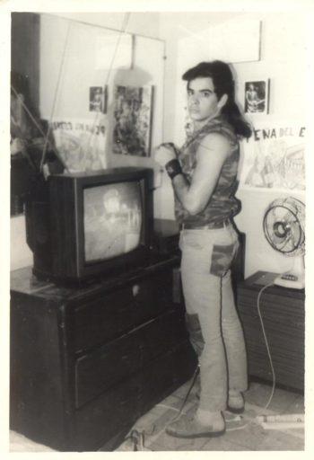 Yoss en 1987 / Foto: Cortesía del entrevistado