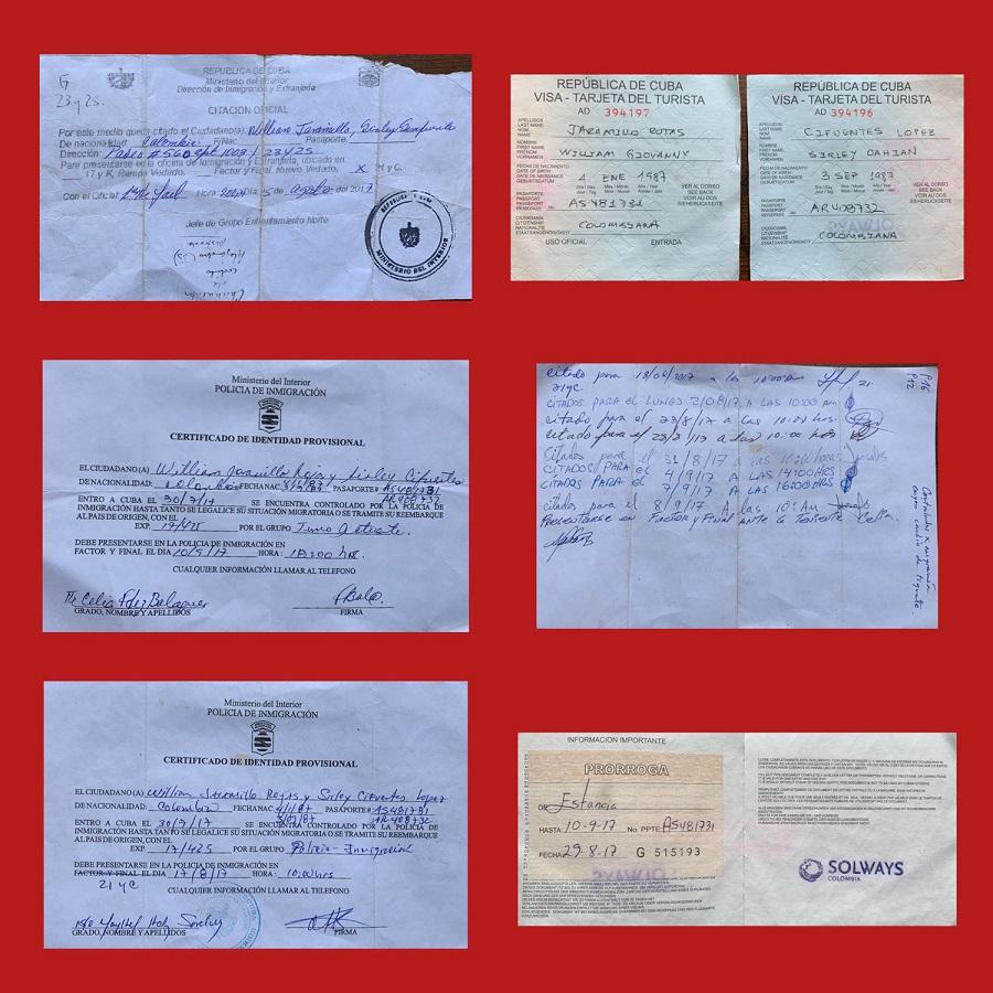 Documentos y citaciones autoridades / Foto: Dahian Cifuentes.